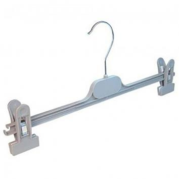 36cm Grey Clip Hanger - Box of 350 (350)