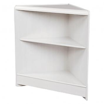 600x600mm White Corner Unit