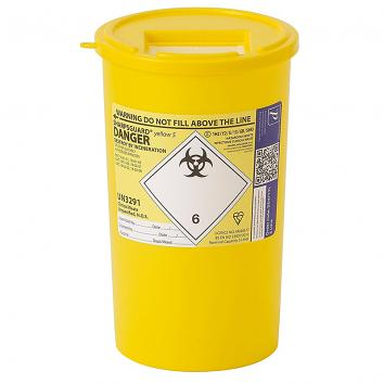 1 Litre Sharps Box (Single)