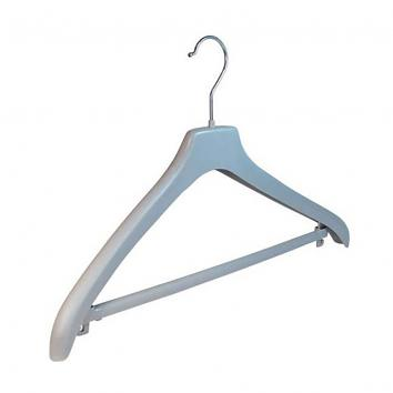 44cm Grey Jacket Hanger (Box of 110)