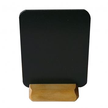 A5 Chalkboard With Wooden Base L/C  (Single)