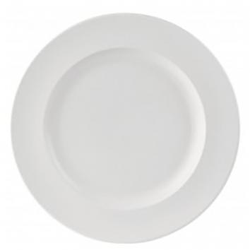 Simply Economy White 21cm Winged Plates(Pack Of 6)