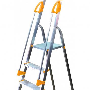Supa-Step 8 Tread EN131 Step Ladder With Dual Handrails