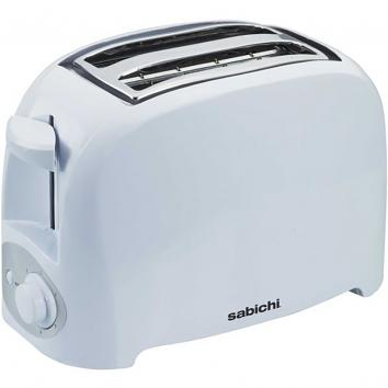 Two Slice Toaster - White
