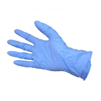Blue Nitrile Gloves Med, Powder Free -1x100