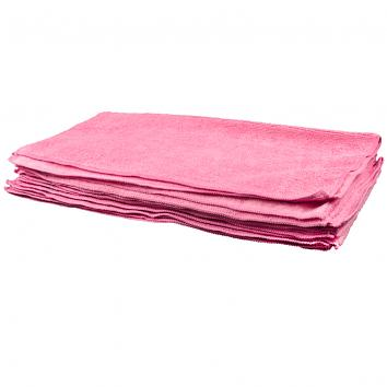 Proshine Microfibre Durable Cloth Red