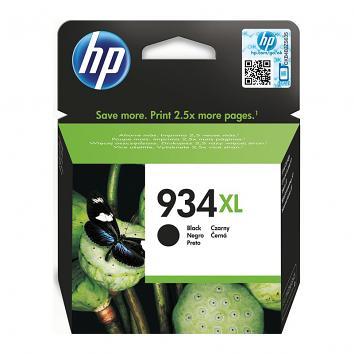 HP No 934XL Black Inkjet Cartridge