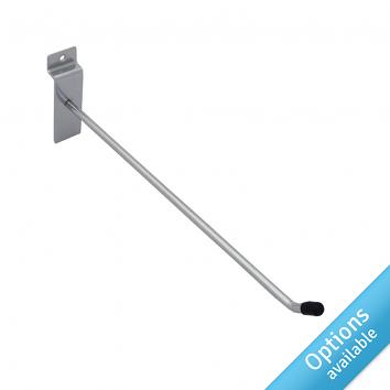 Chrome Single Prong Slatwall Arms
