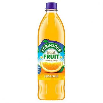 1L Robinsons No Added Sugar Orange Squash