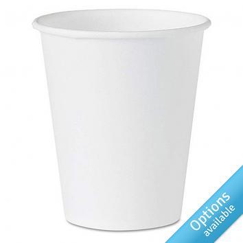 Solo White Paper Cups
