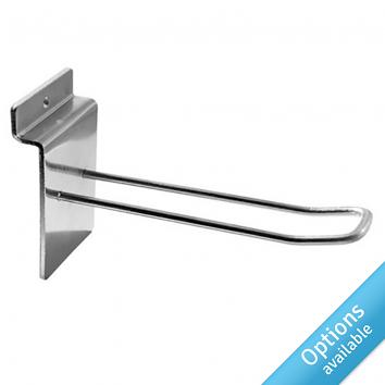 Chrome Medium Duty Euro Slatwall Arms