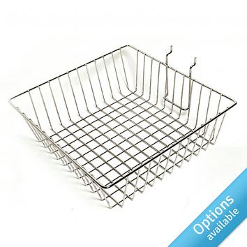 Slatwall Wire Baskets