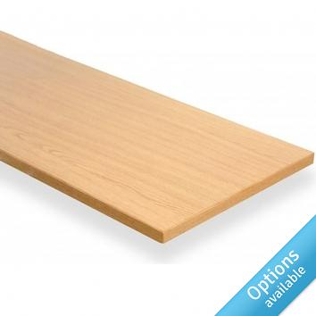 Light Oak Melamine Shelves