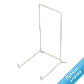White Welded Wire Plate Stands