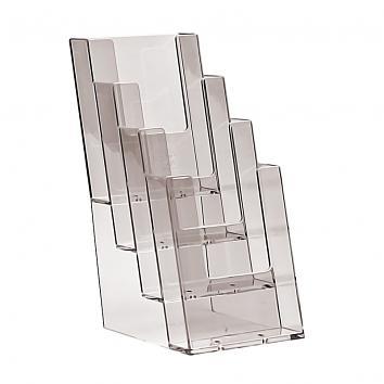 1/3 A4 4 Tier Multiple Leaflet Dispenser