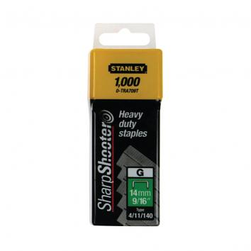 Type G 10mm 3/8in Heavy Duty Stanley Staples (Pack Of 1000)