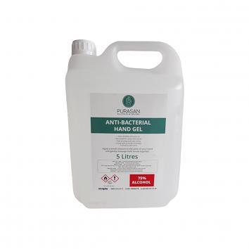 5ltr Purasan PPE™ Hand Sanitiser Gel
