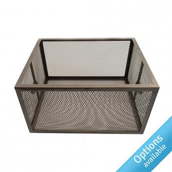 Clear Lacquered Display Baskets STREET 76 Reg Design 6017285