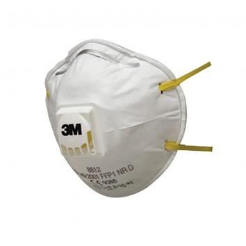 3M Cup Shaped Valved Respirator (Pack of 3) (3)