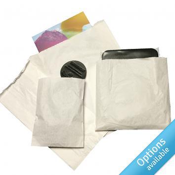 White Sulphite Paper Bags