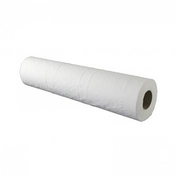 2 Ply White Couch Rolls - 50cm x 50m