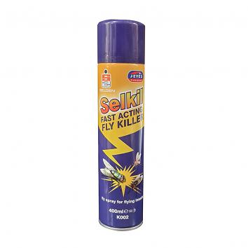 Fly & Insect Spray Aerosol Registered HSE 4829 - Selkil 480ml