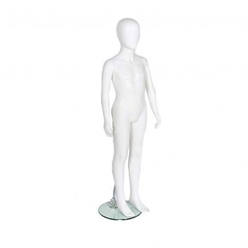 R336 Unisex Child Mannequin Matt White  Age 12-13