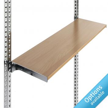 Instore Maple Shelf