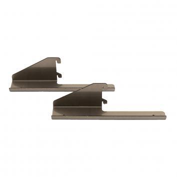 (P-107) 286mm Clear Lacquered Shelf Bracket STREET 76 Reg Design 6017285 (2)