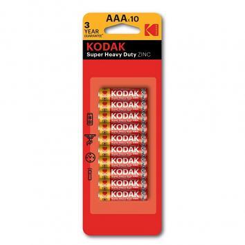 Kodak AAA Batteries - Pack Of 10