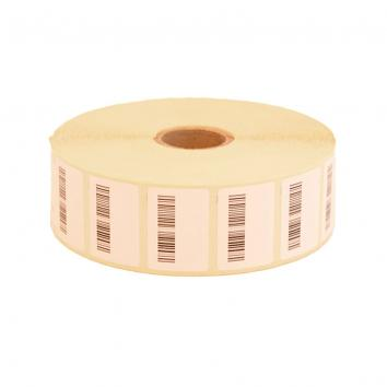 31x22mm White Dummy Barcode Label For EPR EPOS System – 2780 Per Roll (2780)