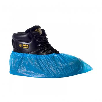 CPE Polythene Disposable Overshoe-Blue (Pack Of 2000)