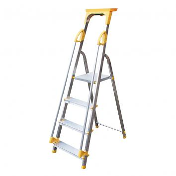 Supa-Step 4 Tread EN131 Step Ladder With Dual Handrails