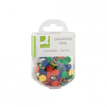 Drawing Pins - Coloured (120)