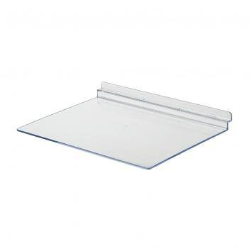 600x65x30mm Slatwall Book or Spectacle Shelf