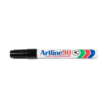 Artline 90 Black Marker Pens (12)