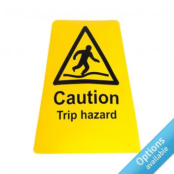 Self adhesive Yellow Sign Labels