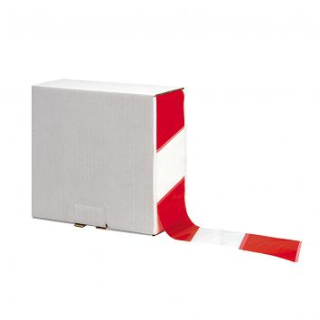 70mmx500m Red/White Non-Adhesive Barrier Warning Tape