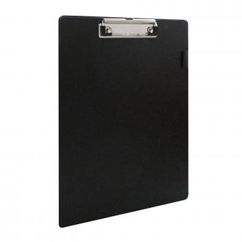 Foolscap PVC Clipboards Black