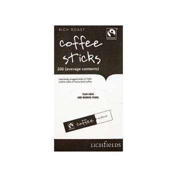 Fairtrade Rich Roast Coffee Sticks - Pack Of 200