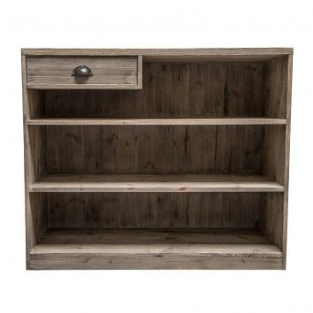 1190x500x1000mm Street76 Cash Desk Old Pine