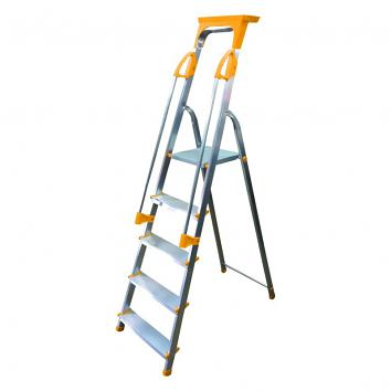 Supa-Step 6 Tread EN131 Step Ladder With Dual Handrails
