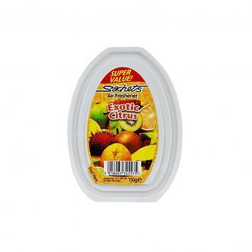 Solid Gel Air Freshener - Exotic Citrus