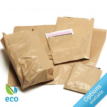 Brown Kraft Strung Paper Bags