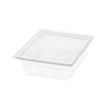110x125x45mm 250ml Mini-Pack Clear Salad Containers (800)