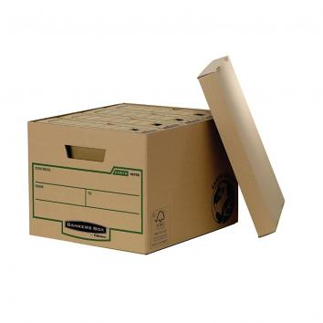325x375x260mm Cardboard Archive Box / Storage Box (Pack Of 10) (10)