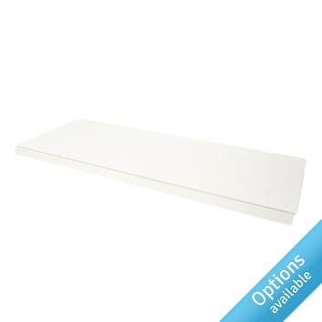 Pure White Shelves