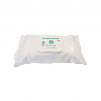 Antibacterial Wipes Purasan PPE™ - Pack of 100