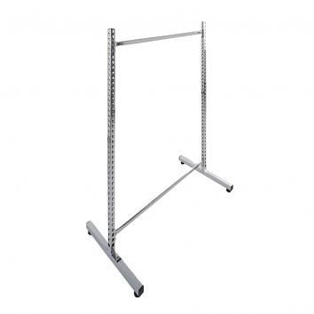 Chrome Gondola Unit, 1400x1000mm (C/W 2 x Tie Bars)