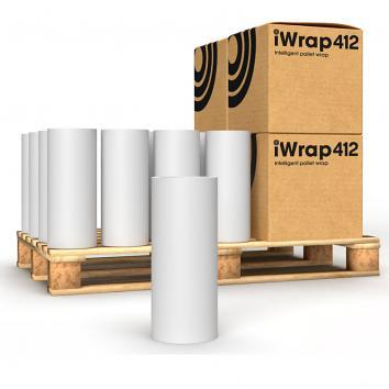 500mm x 2850m 12 Clear iWrap412 Intelligent Pallet Wrap